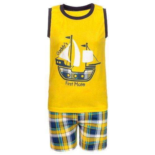 Купить Комплект одежды M&D размер 98, желтый, Комплекты и форма