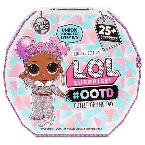 Купить Кукла-сюрприз MGA Entertainment в чемоданчике LOL Surprise Outfit Of The Day Зимнее диско, 562504, Куклы и пупсы