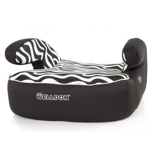 цена на Бустер группа 2/3 (15-36 кг) Welldon PG05, zebra