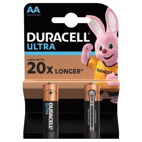 Фото - Батарейка Duracell Ultra Power AA/LR6, 2 шт. батарейка smartbuy aa lr6 ultra alkaline 40 шт
