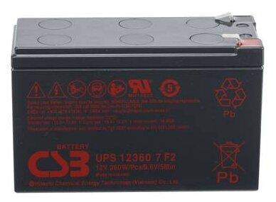 Батарея CSB UPS 123607 F2
