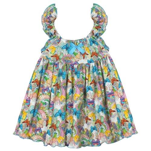 Купить Платье Жёлтый Кот размер 74, розовый, Платья и юбки