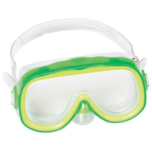 Маска для плавания Bestway Essential Explora зеленыеМаски и трубки<br>