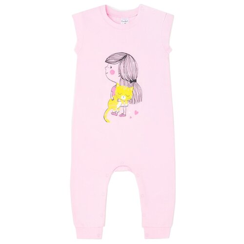 Полукомбинезон crockid Детки К 6198 размер 62, нежно-розовый(детки) фото