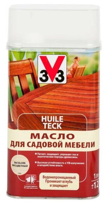Масло V33 для садовой мебели
