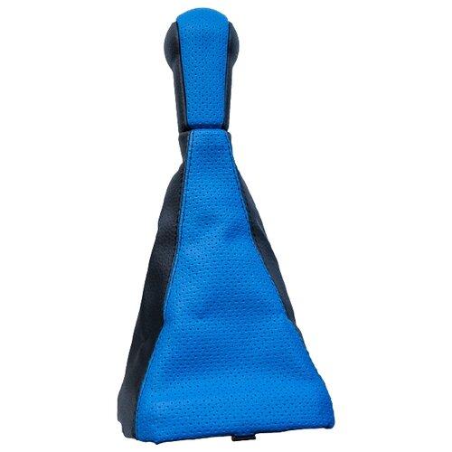 Ручка КПП АвтоБра 2148 для LADA 2113, LADA 2114, LADA 2115 синий
