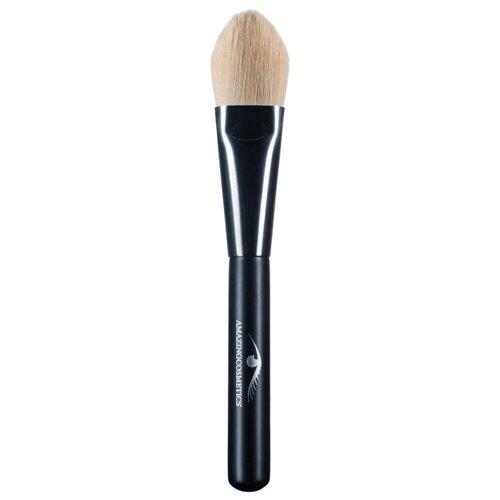 Кисть Amazing Cosmetics Foundation черный/бежевый