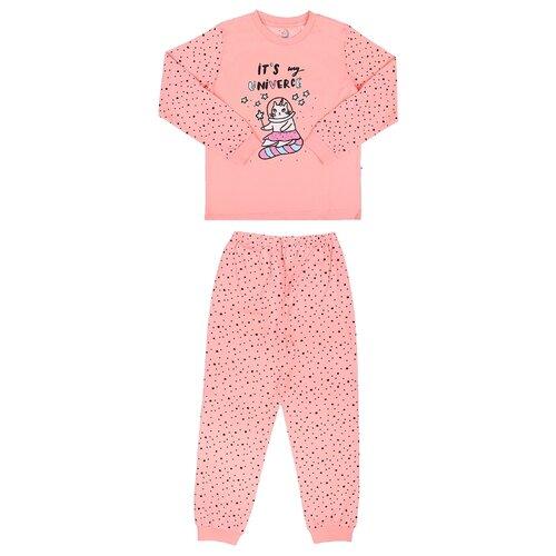 Купить Пижама RuZ Kids размер 122-128, пудровый, Домашняя одежда