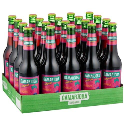 Газированный напиток Gamarjoba Саперави, 0.5 л, 20 шт.