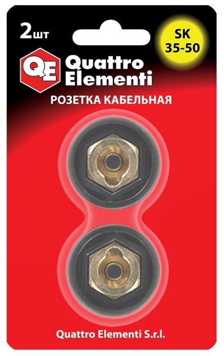 Розетка Quattro Elementi 641-978