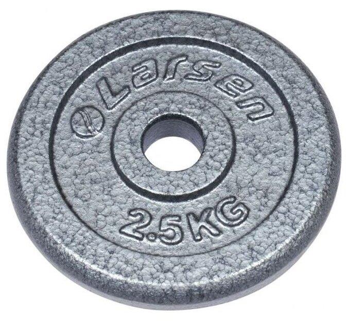 Диск Larsen NT118 25.6 мм 2.5 кг