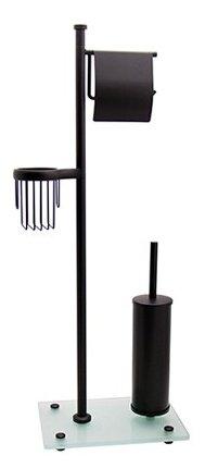 Купить Ершик туалетный WasserKRAFT K-1264 black по низкой цене с доставкой из Яндекс.Маркета