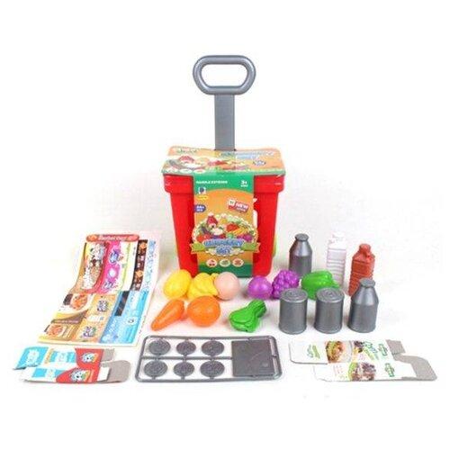 Тележка для покупок Наша игрушка 661-92, Играем в магазин  - купить со скидкой
