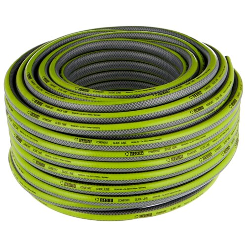 Шланг REHAU SLIDE LINE 1/2 50 метров серый/зеленый шланг rehau slide line 1 2 50
