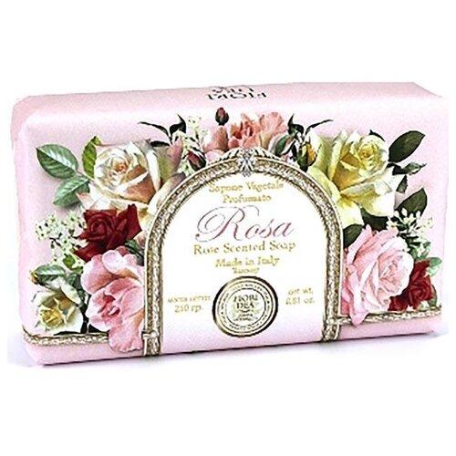 Мыло кусковое Fiori Dea Rose, 250 г fiori dea бальзам для губ sweet