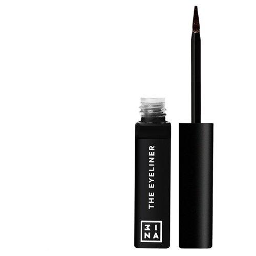 3INA Подводка для глаз The Color Eyeliner, оттенок 500 3ina карандаш для губ с аппликатором 3ina 513