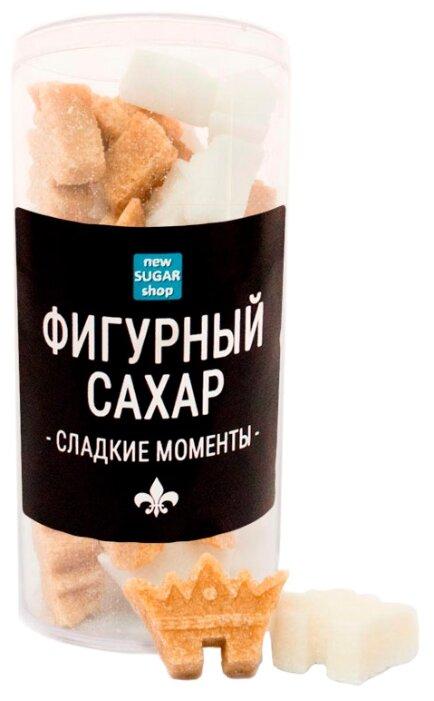 Сахар New SUGAR shop фигурный Сладкие моменты Короны сахарные тростниковые и белые 0.13 кг