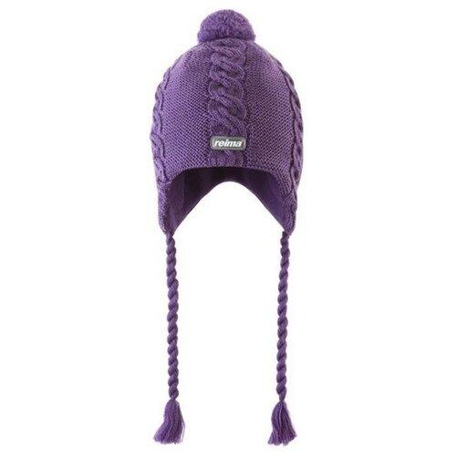 Шапка Reima размер 48, violet шапка reima размер 48 pink
