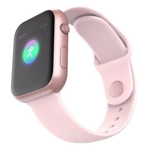 Умные часы LEMFO SX16, розовый
