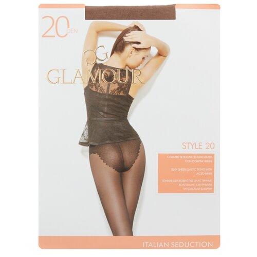 Колготки Glamour Style 20 den, размер 3-M, daino (бежевый) колготки glamour style 5 20 den медный