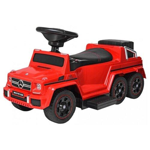 Каталка-толокар RiverToys Mercedes-Benz A010AA-D красный детские ходунки 306а красные rivertoys