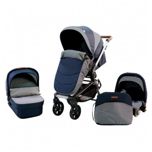 Фото - Универсальная коляска Farfello Zuma Trio Comfort (3 в 1) темно-синий farfello автомобиль jj2198 синий