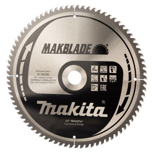Пильный диск Makita Standart B-29290 305х30 мм пильный диск makita standart b 29309 305х15 8 мм