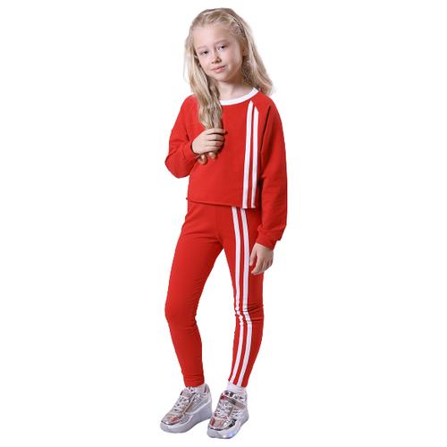 Купить Спортивный костюм Nota Bene размер 158, красный, Спортивные костюмы
