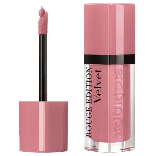 Bourjois жидкая помада для губ Rouge Edition Velvet, оттенок 10 Don't pink of it! bourjois silk edition