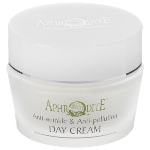 Aphrodite Anti-wrinkle and Anti-pollution Day Cream Омолаживающий защитный дневной крем для лица, 50 мл