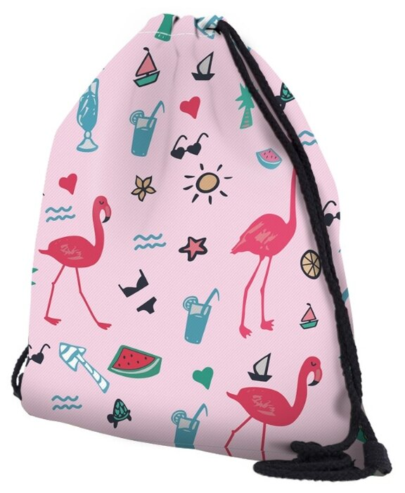 HOMSU сумка-мешок для сменной обуви Summer Flamingo (PF-S-44)