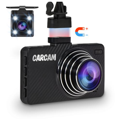 Видеорегистратор CARCAM D5, 2 камеры черный new
