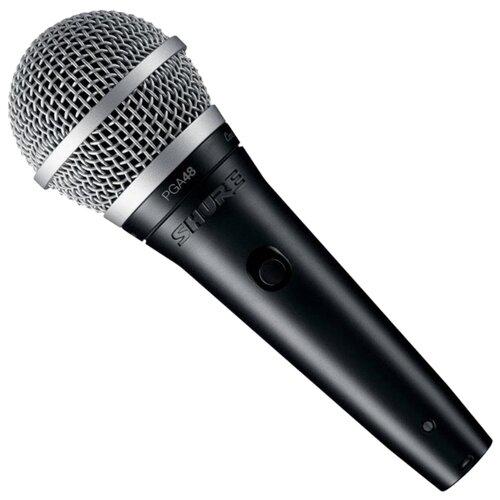 Купить Микрофон Shure PGA48-QTR-E черный