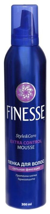 Finesse Пенка для волос Extra Control сильная фиксация