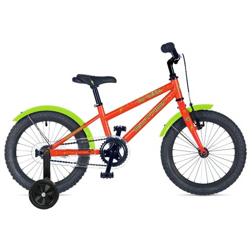 Детский велосипед Author Orbit (2019) оранжевый/салатовый 9 (требует финальной сборки) дорожный велосипед author