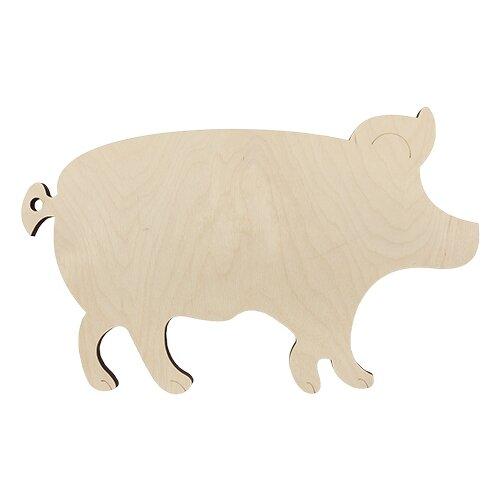 Купить Astra & Craft Деревянная заготовка Свинья (L-1021), Роспись предметов
