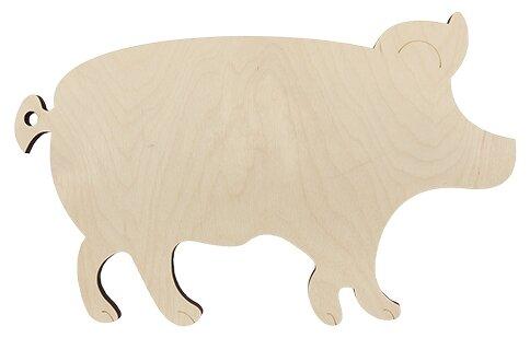 Астра Деревянная заготовка Свинья (L-1021)