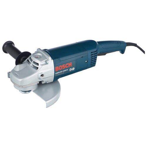 цена на УШМ BOSCH GWS 20-230 H, 2000 Вт, 230 мм