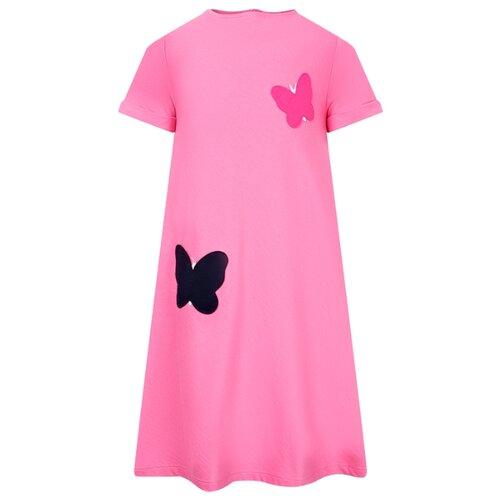 Платье Il Gufo размер 104, розовый