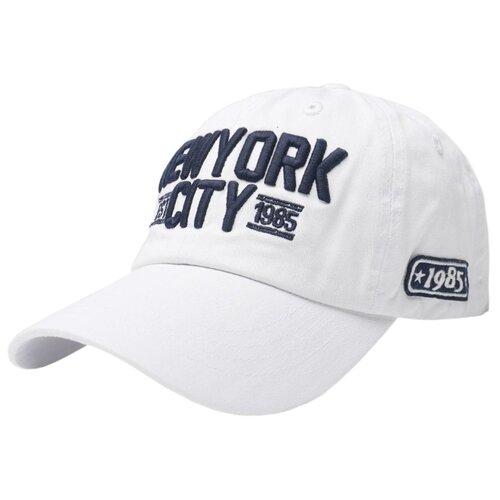 Бейсболка Be Snazzy New York City (CZD-0052) размер 56-60, белый