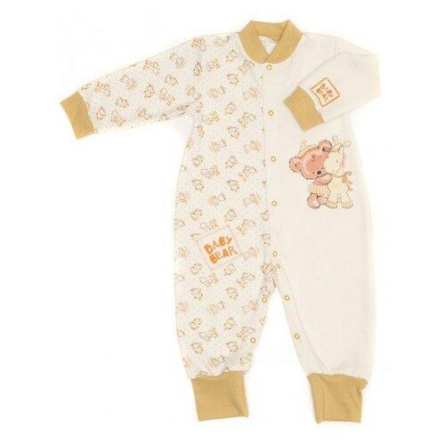 Комбинезон Babyglory размер 80, бежевый джемпер для новорожденных babyglory superstar цвет синий ss001 09 размер 80