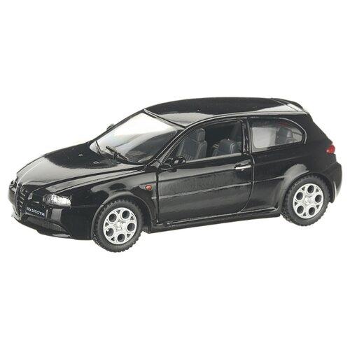 Купить Детская инерционная металлическая машинка с открывающимися дверями, модель Alfa Romeo 147 GTA, черный, Serinity Toys, Машинки и техника