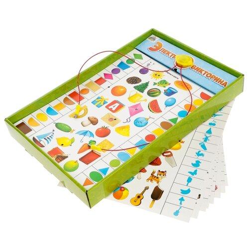 Купить Настольная игра- электровикторина Я познаю мир , 3-4 года, SL-02734 4366687, IQ-ZABIAKA, Настольные игры