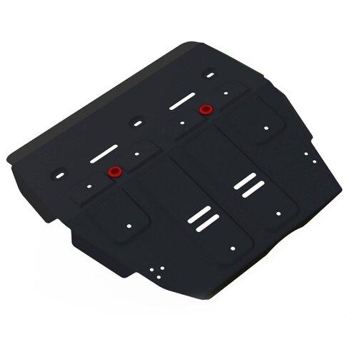 Защита коробки передач и картера двигателя Автоброня 111.09401.1 для Haval