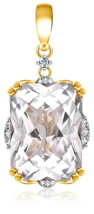 Бронницкий Ювелир Подвеска из желтого золота D0000575307000