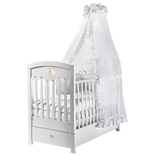 Купить Кроватка Feretti Enchant FMS (классическая), продольный маятник белый, Кроватки