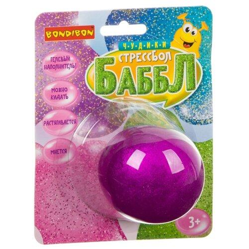 Игрушка-мялка BONDIBON Чудики Баббл (ВВ3583) фиолетовый