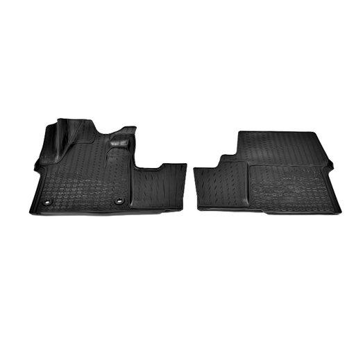 Комплект ковриков NorPlast NPA10-C64-900 Peugeot Traveller 2 шт. черный