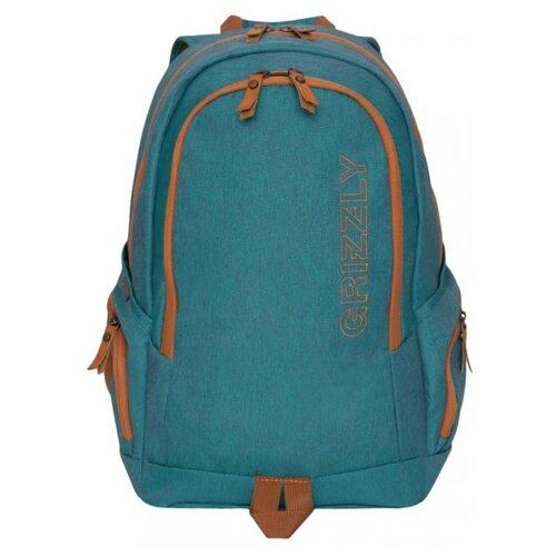 Рюкзак Grizzly RQ-901-1 19 бирюзовый рюкзак городской grizzly rq 916 1 1 серый 10 л