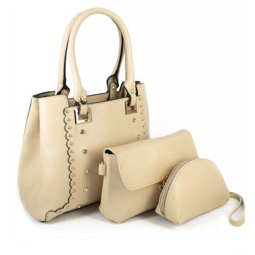 Сумка тоут Kingth Goldn C199, искусственная кожа сумка тоут kingth goldn c134 искусственная кожа